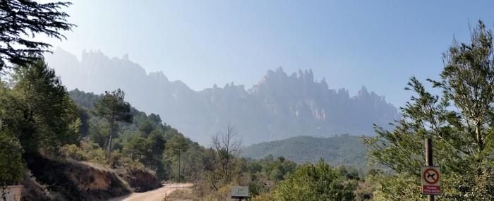 Ruta BTT: Vic - Monistrol de Montserrat