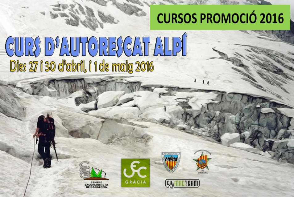 Curs d'Autorescat Alpí