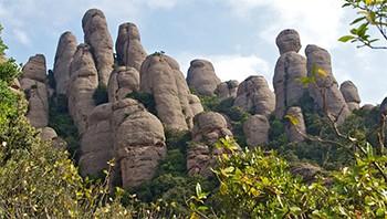Trobada Secció d'Escalada a Montserrat