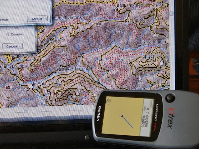Curs de GPS, mapes digitals i programes