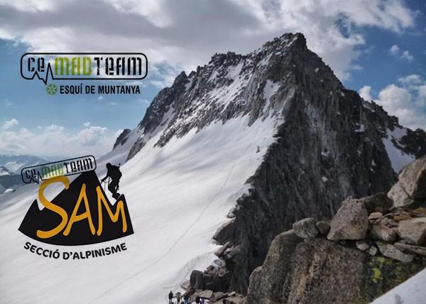Trobada SAM (Secció d'Alpinisme) i SEM (Secció d'Esquí) al Run