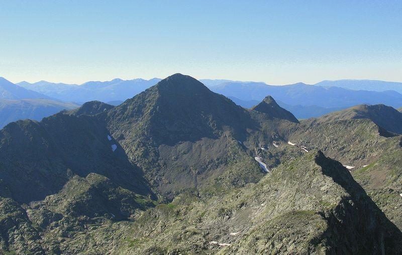 Travessa muntanya Alt Pirineu